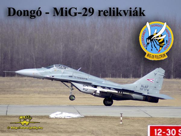 9b14373163 Dongó SQN Webshop - MiG-29 és Dongó század ajándékok JETfly Military ...