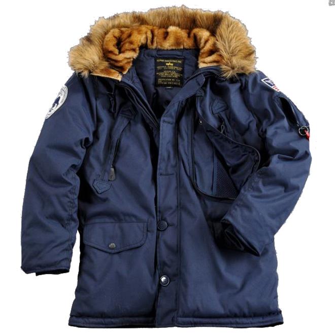 Polar Jacket SV fehér kabát Alpha Industries