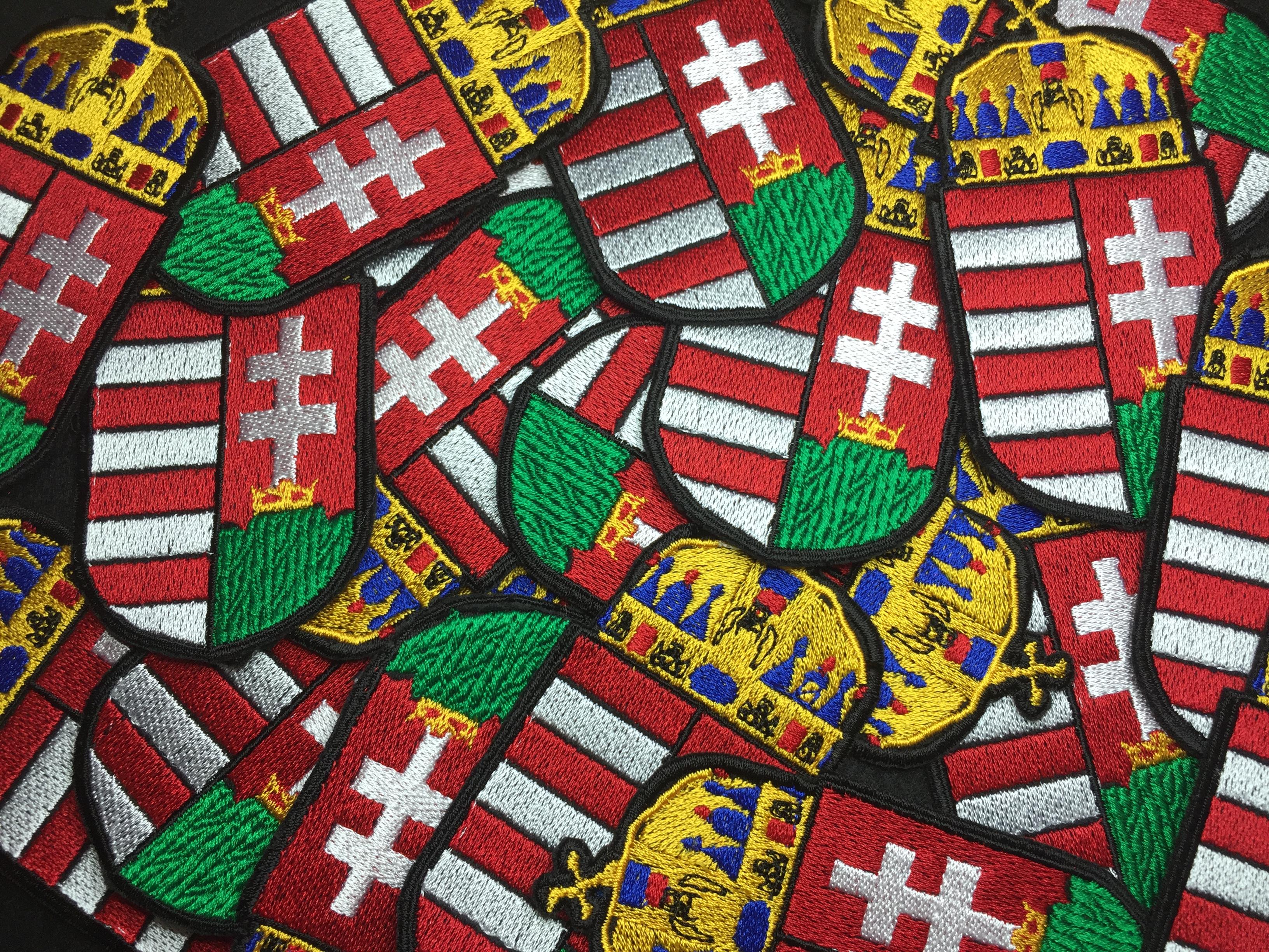 8c01fe02c2 Magyar címer felvarró - Tépőzárral JETfly Military Webshop