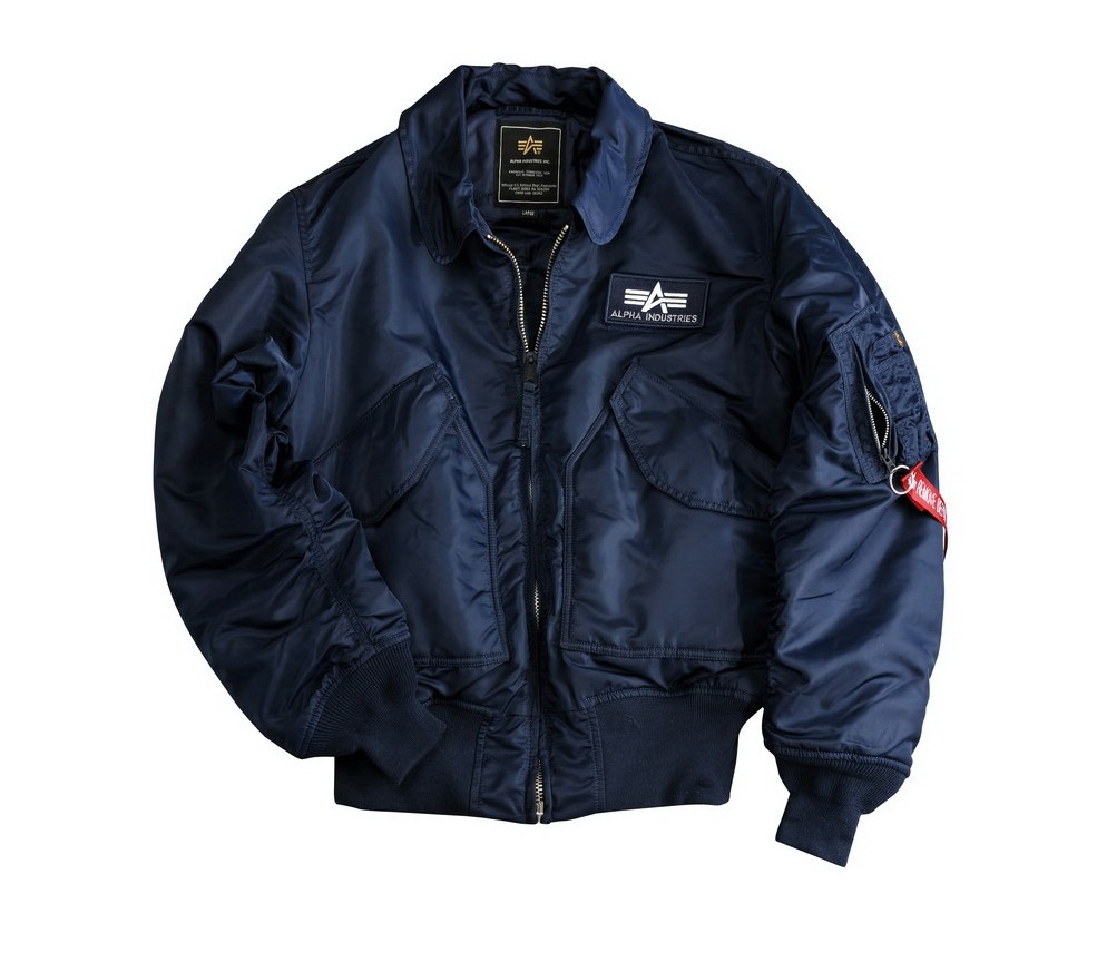 Alpha Industries CWU 45 férfi dzseki, Fekete, 5XL es méret