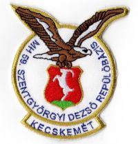 MH59. Szentgyörgyi Dezső Repülőbázis felvarró