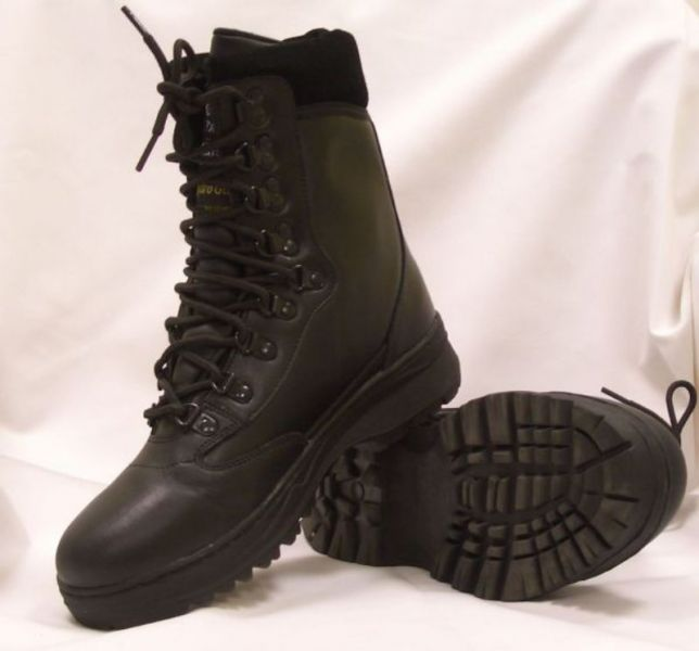 1f27cf2b21 Trend bőr Bakancs - fekete 46 JETfly Military Webshop