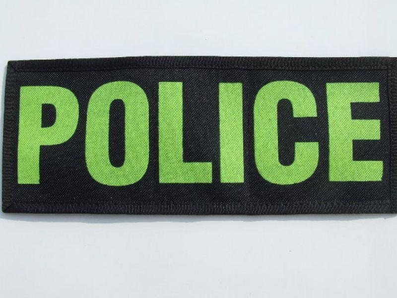 f5c810bb74 Felirat tépőzáras Nagy police JETfly Military Webshop