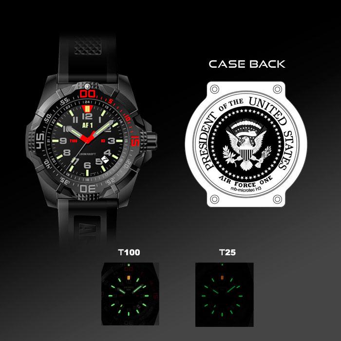 KRYPTOLITE AIR FORCE1 számlap világítási rendszerű óra