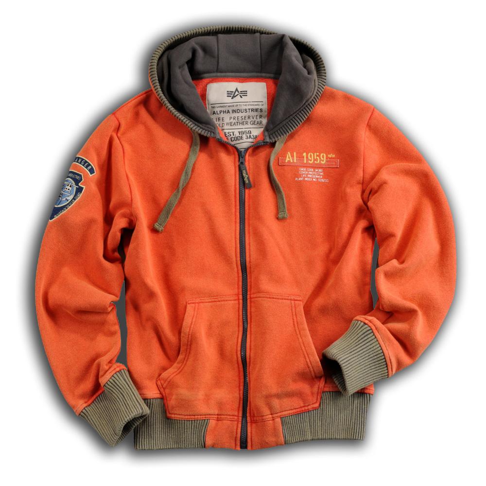 AKCIÓ  Alpha Industries Inc. Mountain Zip Hoody (133302) - M-es méretben e05dd9a97a
