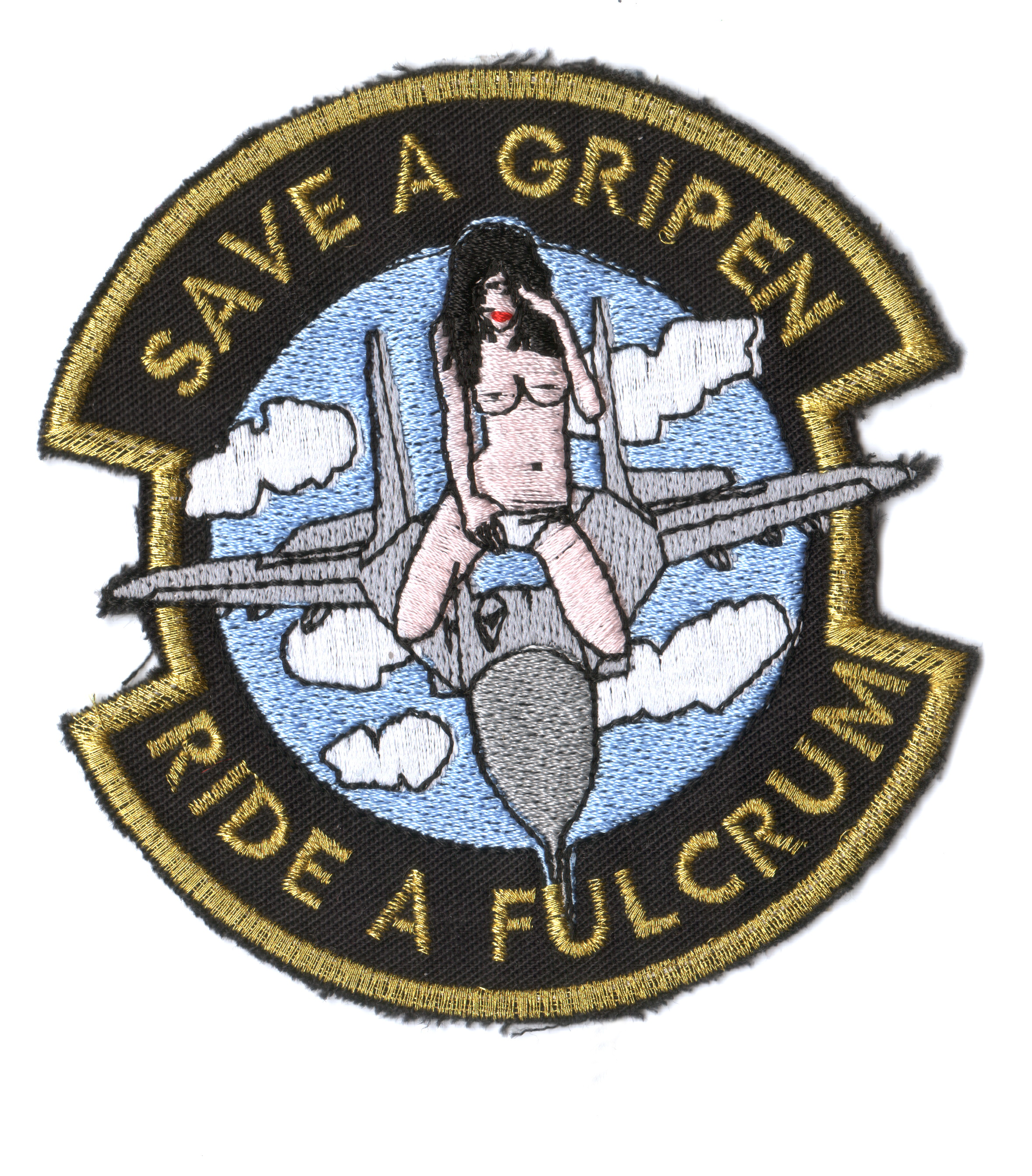 c6f02f725e5d Save a Gripen - Ride a Fulcrum felvarró JETfly Military Webshop
