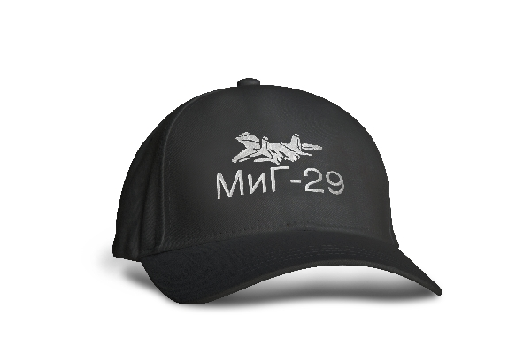 Hímzett MiG-29 baseball sapka - fehér hímzés JETfly Military Webshop f3ff8fcbae