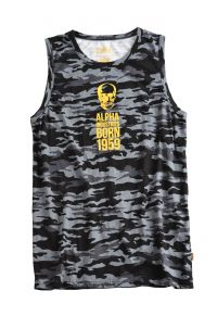 Alpha Industries Skull Born Muscle T (156521)