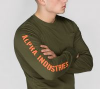 Alpha Industries Sleeve Print LS (176530)