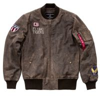Alpha Industries MA-1 VF Flying Tigers Leather (178151)