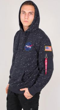 Alpha Industries NASA Starry Hoody (186311)