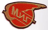 MiG-29 type patch - red (3008A14F)